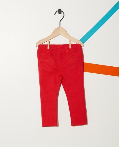 Jeans mit verstellbarem Bund